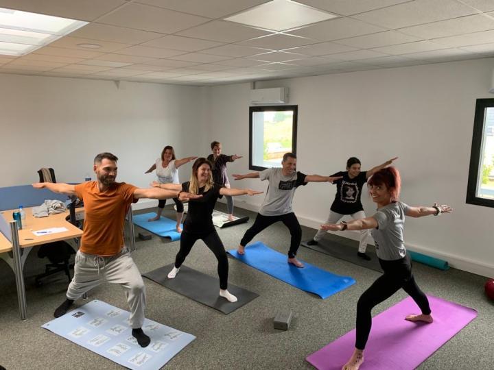 yoga gestion du stress